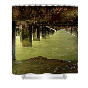 Berkley Pier California Shower Curtain