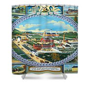 Berks County Almshouse Shower Curtain