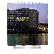 Berlin 360 Grad  Shower Curtain by Juergen Held