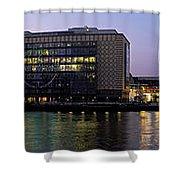 Berlin 360 Grad  Shower Curtain