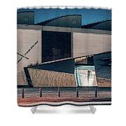 Berlin - Academy Of The Jewish Museum Shower Curtain