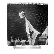 Berlin: Balloon Race, 1908 Shower Curtain