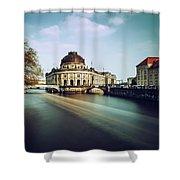 Berlin Bode Museum Shower Curtain