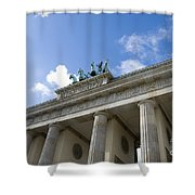 Berlin Brandenburger Tor Shower Curtain