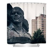 Berlin - Ernst-thaelmann-park Shower Curtain