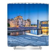 Berlin Government District Shower Curtain