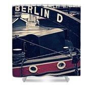 Berlin - Historischer Hafen Shower Curtain