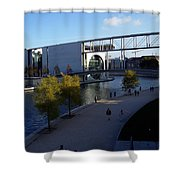 Berlin II Shower Curtain