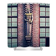 Berlin - Industrial Architecture Shower Curtain