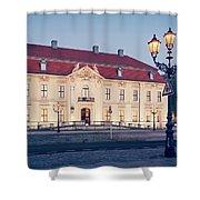 Berlin - Jewish Museum Shower Curtain