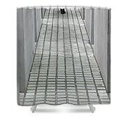 Berlin Memorial Shower Curtain