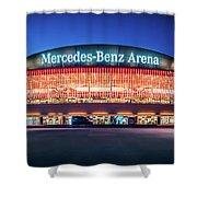 Berlin - Mercedes-benz Arena Shower Curtain