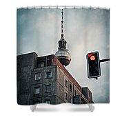 Berlin-mitte Shower Curtain