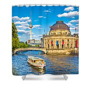Berlin Museum Island Shower Curtain