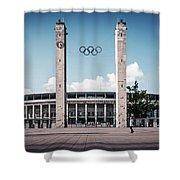 Berlin - Olympic Stadium Shower Curtain