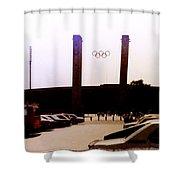Berlin Olympic Stadium  Shower Curtain
