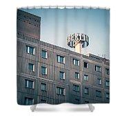 Berlin - Plattenbau Shower Curtain