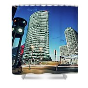 Berlin - Potsdamer Platz Shower Curtain