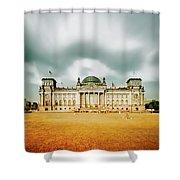 Berlin Reichstag Building Shower Curtain