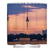 Berlin - Tempelhofer Feld Shower Curtain