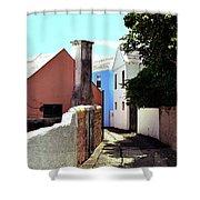Bermuda Backstreet Shower Curtain
