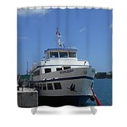 Bermuda Ferry The Bermudian Shower Curtain