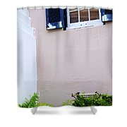 Bermuda House, St. George. Shower Curtain