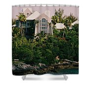 Bermuda Mansion Vision # 4 Shower Curtain