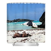 Bermuda On The Beach Shower Curtain