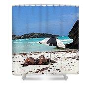 Bermuda On The Beach Shower Curtain