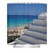 Bermuda Rooftop Shower Curtain