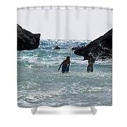 Bermuda Splash Shower Curtain