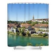 Bern, Switzerland Capital City Shower Curtain