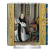 Bernard De Clairvaux Shower Curtain