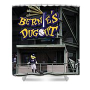 Bernies Dugout Shower Curtain
