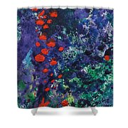 Berry Garden Pie 2 Shower Curtain