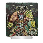 Berserker  Shower Curtain