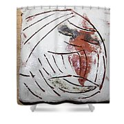Bertha - Tile Shower Curtain