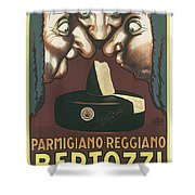 Bertozzi Poster Shower Curtain