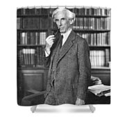 Bertrand Russell Shower Curtain