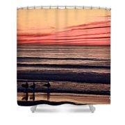 Beside Still Waters - Digital Paint Effect Shower Curtain