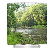 Beside The Still Waters Shower Curtain