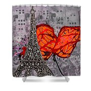 Beside You All The Way Shower Curtain