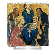 Besozzo: St. Catherine Shower Curtain