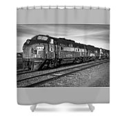 Bessemer And Lake Erie F7s Shower Curtain