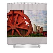 Bessemer Converter - Steel City - Pittsburgh Shower Curtain