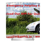 Best And Affordable Car Services Company. Shower Curtain