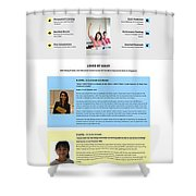 Best Chemistry Tuition In Singapore Shower Curtain