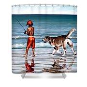 Best Friends II Shower Curtain