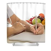 Best Nutritionists Melbourne Shower Curtain